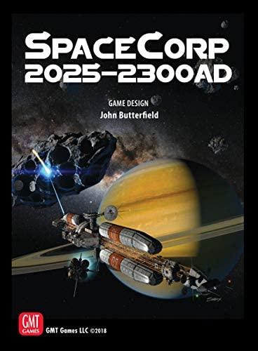 Amazon Com Gmt Games Spacecorp 2025 2300 Ad Board Game Toys Games