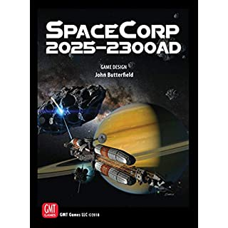 GMT Games SpaceCorp: 2025–2300 AD Board Game