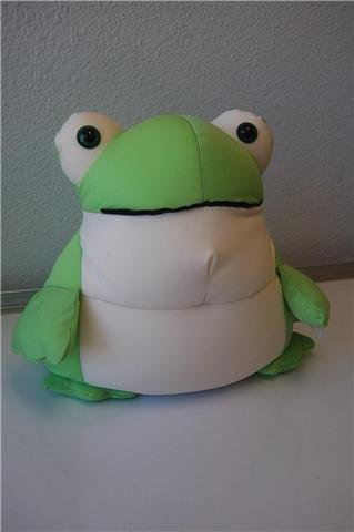 Snow Foam Micro Beads Pillow Petz Frog Standing Large 18
