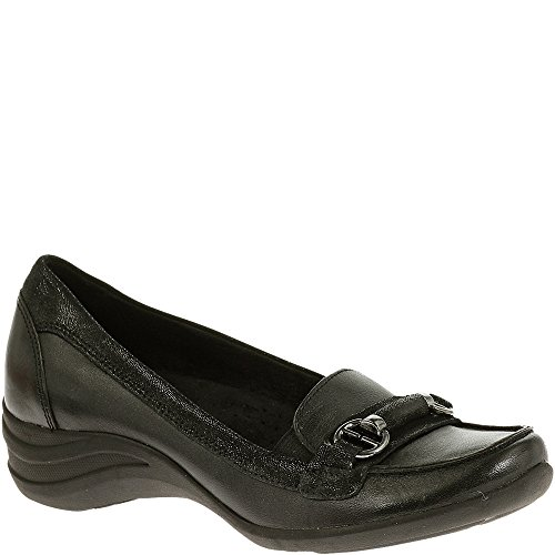 Negro ocasionales zapatos Hush Puppies Kalani Alternativa holgazanes los Cuero de Brown w8vfqw