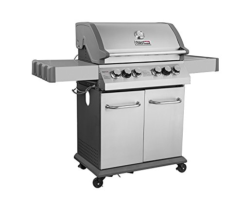 Royal Gourmet Infrared 550 4 Burner Cabinet Propane Gas Grill,BBQ Outdoor  Grill With