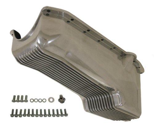 1958-79 Chevy Small Block Aluminum Stock Capacity Oil Pan - Retro Finned