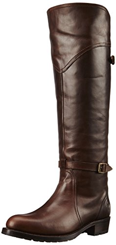 FRYE Women's Dorado Lug Riding Boot,  Dark Brown, 8 M US