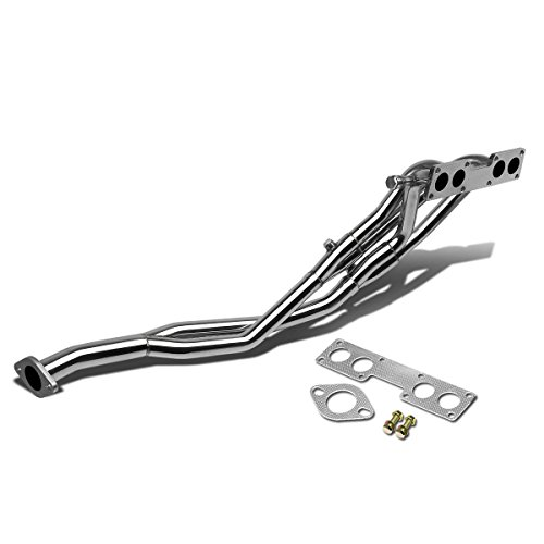 DNA Motoring HDS-NS13 Stainless Steel Exhaust Header Manifold