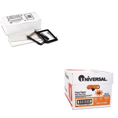 KITPCISL112UNV21200 - Value Kit - Panter Company Spring-Lock Metal Label Holders (PCISL112) and Universal Copy Paper (UNV21200)