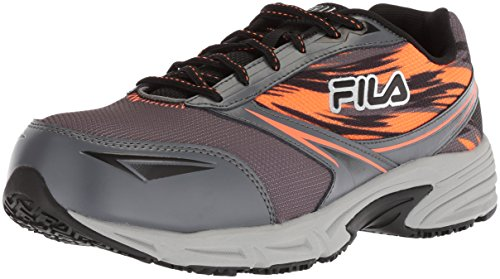 Fila Men's Memory Meiera 2 Slip Resistant and Composite Toe Work Shoe