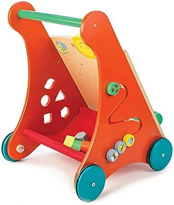 Amazon.com: Tender Leaf Toys - Wooden Baby Activity Walker ...
