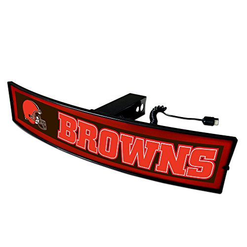 CC Sports Decor NFL - Cleveland Browns Light Up Hitch Cover - 21