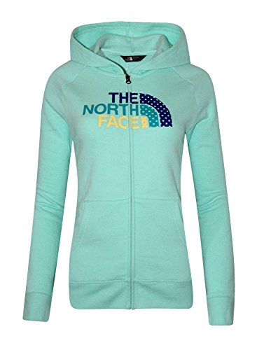 The North Face Logowear 80/20 Youth Girls Full Zip Athletic Hoodie (S - Glasses Face North