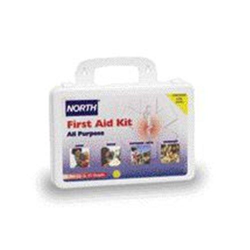 Honeywell 010101 4354L North By Plastic 25 Person General Purpose Portable First Aid Kit  English  30 68 Fl  Oz   Plastic  1  X 1  X 1