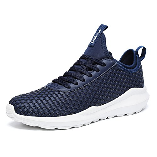 1 Need 5 Walking Gym Sneakers Trainers Men fereshte Sports Lightweight Fitness up 269blue 1 Unisex Running Size Shoes Adults' FxZxwq67X