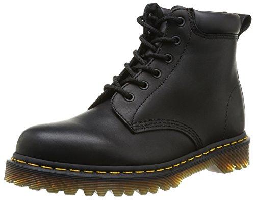 - Dr. Martens unisex-adult  0939 Series Black Greasy Boot UK 5 (US Women's 7) Medium