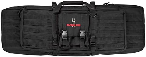 Safariland model 4552-46-4 Dual Rifle Case, Nylon, Black, M1 AR15 Full length