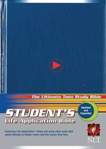 Student's Life Application Bible: New Living Translation, hardcover
