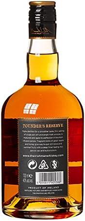 The Irishman The Irishman Founder'S Reserve Small Batch Irish Whiskey 40% Vol. 0,7L In Giftbox - 700 ml