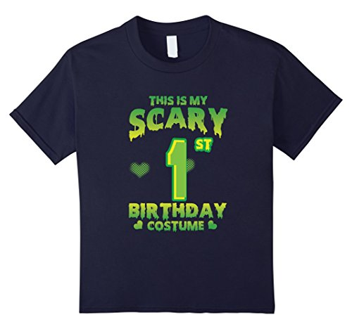 Cute One Year Old Boy Halloween Costumes (Kids Halloween Costume For 1 Year Old. 1st Birthday Shirt. 12 Navy)