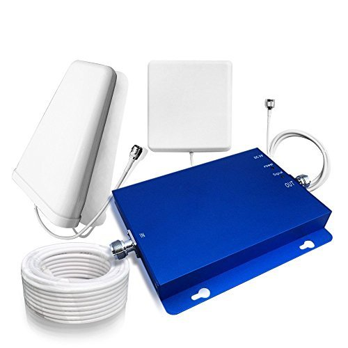 Sanqino 2G/3G/4G Cell Phone Signal Booster Gain 65dB Band 2 and Band 5 Dual Band Signal Repeater Blue Signal Amplifier for 2G/3G Verizon, 2G/3G AT&T, Sprint, T-Mobile and etc. by SANQINO (Image #8)