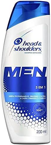 Shampoo De Cuidados Com A Raiz Head & Shoulders Men 3Em1 200Ml, Head & S