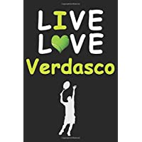Live Love Verdasco Journal : Funny Cute Gift