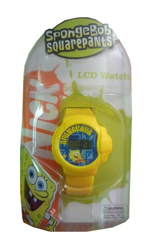 SpongeBob: Wrist Watch / Yellow / LCD Watch