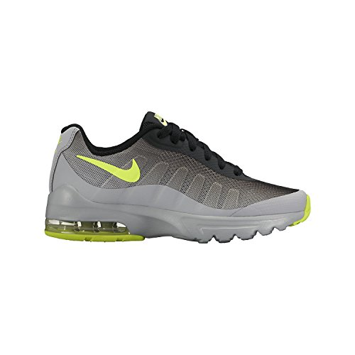 6690f0eac7b2 Galleon - NIKE Kids Air Max Invigor (GS) Wolf Grey Volt Black Running Shoe  5.5 Kids US