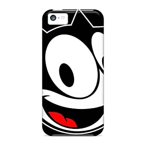 YbL529wkez Abrahamcc Awesome Case Cover Compatible With Iphone 5c - Felix The Cat Cartoon