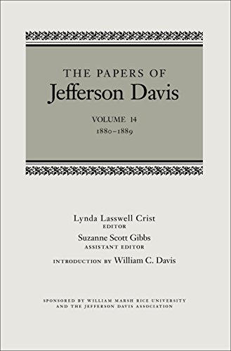 Download The Papers of Jefferson Davis: 1880-1889 Pdf