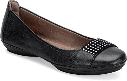 Black Comfortiva Comfortiva Sallis Black Comfortiva Flats Flats Sallis Sallis Flats SFp6q7