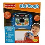 Toy / Game Cool Fisher-Price Kid-Tough And Easy For Kids Realdigital Camera (Blue) With 4X Digital Zoom