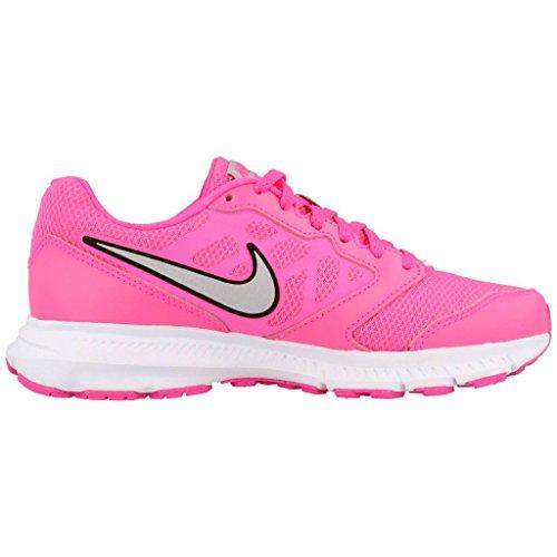 Nike da Metallic Wmns 6 Donna Pink wht Blast Ginnastica Silver Rosa Downshifter Scarpe q4qUa