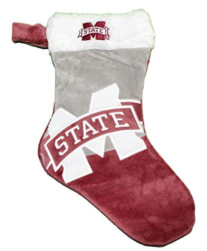 - Forever Collectibles Mississippi State Bulldogs 2018 NCAA Basic Logo Plush Christmas Stocking