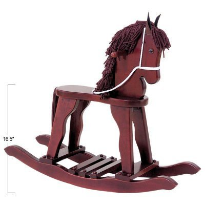 KidKraft Derby Rocking Horse - Honey