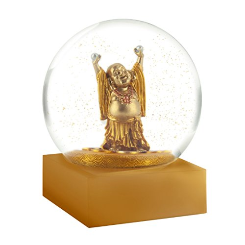 CoolSnowGlobes Buddha Laughing Snow Globe