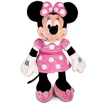 Amazon Com Jumbo 48 Plush Disney Minnie Mouse Doll Toys Games