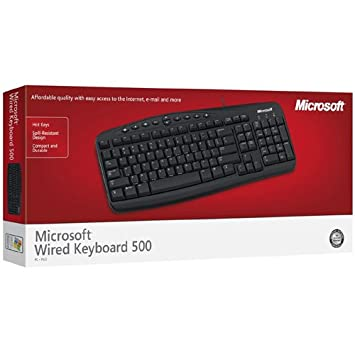 Image result for MICROSOFT WIRED KEYBOARD 500
