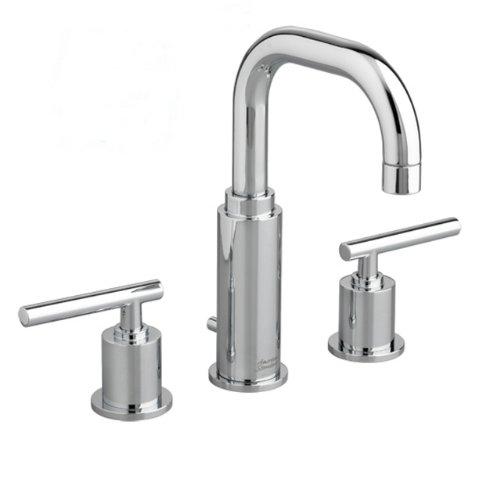 - American Standard 2064.831.002 Serin Widespread Bathroom Sink Faucet with Metal Pop-Up Drain, Chrome
