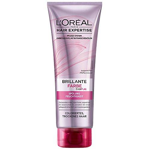 L'Oréal Paris Ever Pure  Brillante Farbe- Spülung Feuchtigkeit, 3er Pack (3 x 250 ml)