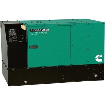 (Cummins Onan Quiet Series Diesel RV Generator - 12.5 kW, Model# 12.5HDKCB-11506)