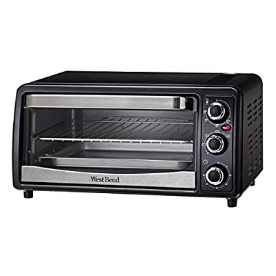 West Bend 74107 West Bend Convection Toaster Oven, Black