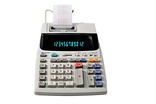 Sharp EL 1801V Portable 12 Digit Calculator