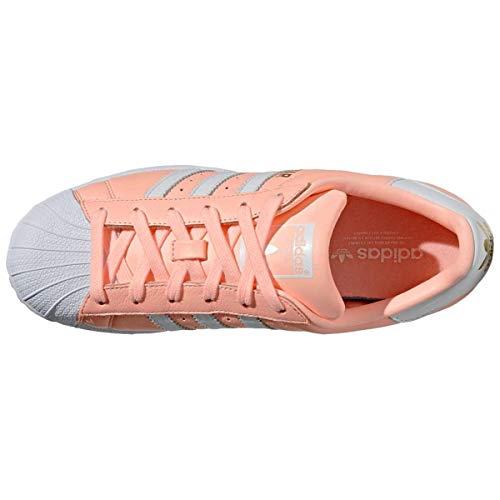 De 000 Superstar Chaussures Femme Adidas Fitness W naranja Orange FBZwfxqtxP