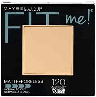 Maybelline New York Fit Me Matte + Poreless Powder Makeup, Classic Ivory, 0.29 oz.