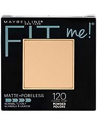 Maybelline New York Fit Me Matte + Poreless Powder Makeup, Classic Ivory, 0.29 oz.