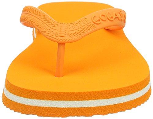 Goganics Bicolour - Sandalias Unisex Adulto Naranja - Orange (orange 500)