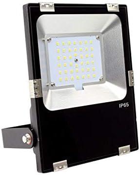 Foco Proyector LED 30W Slim Blanco Neutro 4800K-5200K: Amazon.es ...