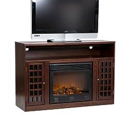 Akita Espresso Media Electric Fireplace