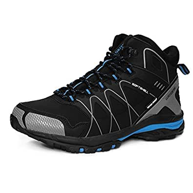 Amazon.com | GRITION Mens Walking Boots Waterproof Running