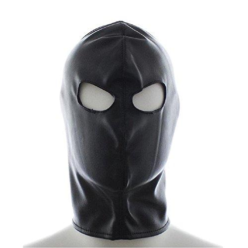 FeiGu Bondage Gimp Mask Head Hood Fetish Erotic Sex Toys for Adults T10 (Black) by FeiGu