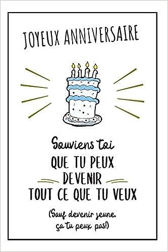 Bon Anniversaire Carnet De Notes Pour Lui Idée Cadeau