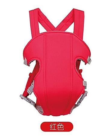 Hivel 3 en 1 Respirable Fular Portabebes Portador de Bebe Front Back Baby Safety Carrier Infant Comfort Backpack Sling Wrap Azul Oscuro